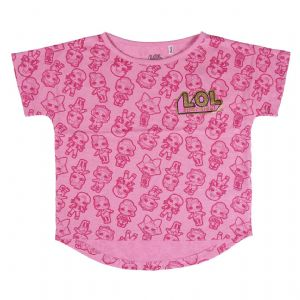 CAMISETA-ALGODON-VERANO-TALLA-5-12-ANYOS-LOL-SURPRISE