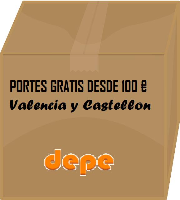 a53a387ff Envios a Valencia, Castellon. Pedidos superiores a 100€ + iva:portes gratis